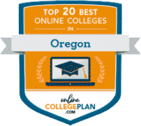 Top 20 best online colleges Oregon